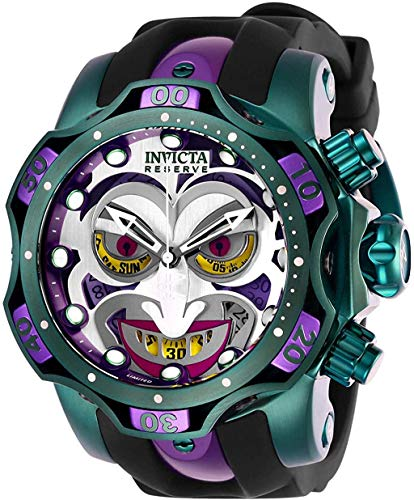 Invicta Men's DC Comics Quartz Diving Watch with Stainless Steel