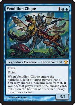 Magic The Gathering - Vendilion Clique - Modern Masters - Foil