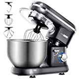 VIVOHOME Stand Mixer, 650W 6 Speed 6 Quart Tilt-Head Kitchen Electric Food Mixer with Beater, Dough Hook and...