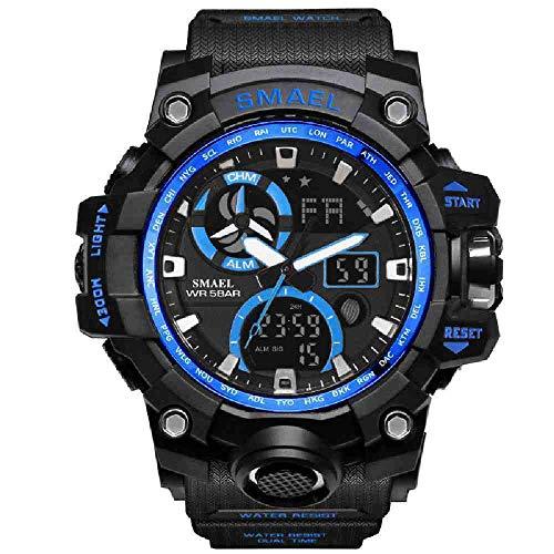 DSNGZ Reloj de Pulsera Army Watches Brand Digital BacklightWatch Men Military Led Relojes de Pulsera Reloj Militar...