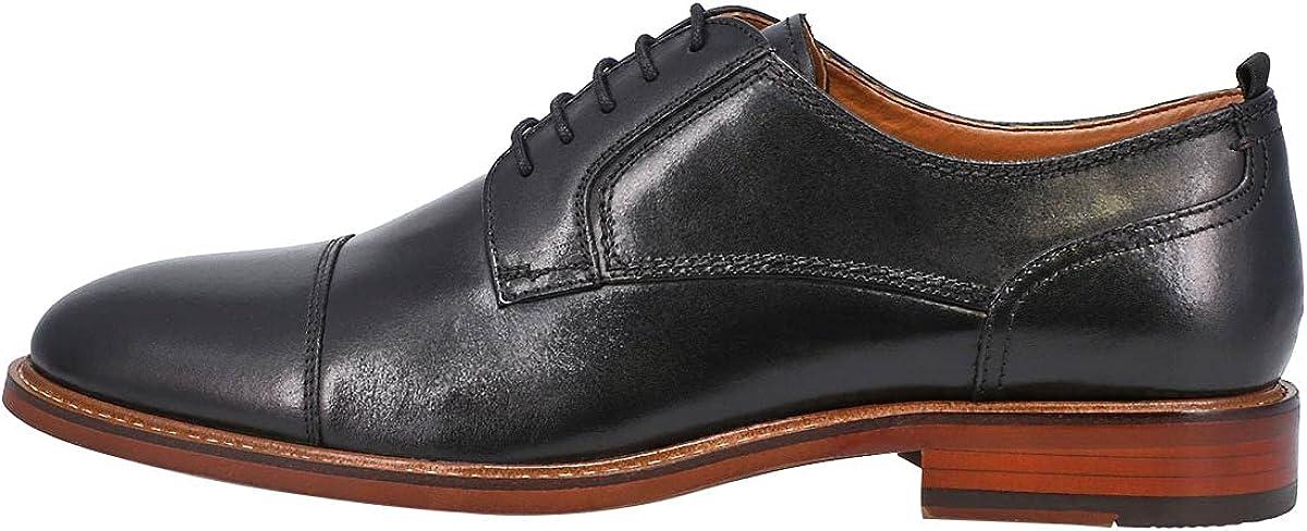 Steve Madden Men's Chadrick Lace Up Dress Oxford Black 8 Medium US