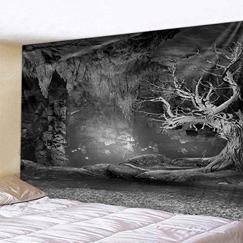 N/A Impresión 3D tapices Tapiz de Pared de Dormitorio Tapiz de árbol Agujero Negro Decoración de Pared de Sala de Estar Regalo del Arte de la Estera de la Playa de la decoración del hogar de la Moda