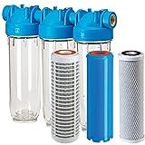 DP3-PBLPCBPFEX 10mcr 3/4' Eisenfilter Eisenwasserfilter Eisenentfernung Iron