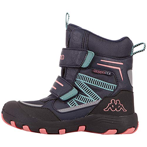 Kappa Unisex Kinder Blackpool TEX Sneaker, 6722 Navy/pink,38 EU