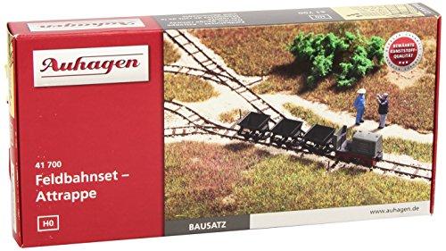 Auhagen 41700 - Feldbahnset - Attrappe, Modelleisenbahn Zubehör