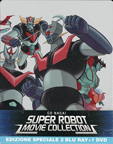 Go Nagai Super Robot Movie Collection (2 Bluray + 1 Dvd)