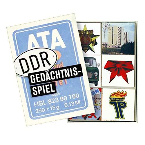 Ostprodukte-Versand.de DDR Gedächtnisspiel | DDR Geschenke | für Ostalgiker | Ossi Artikel