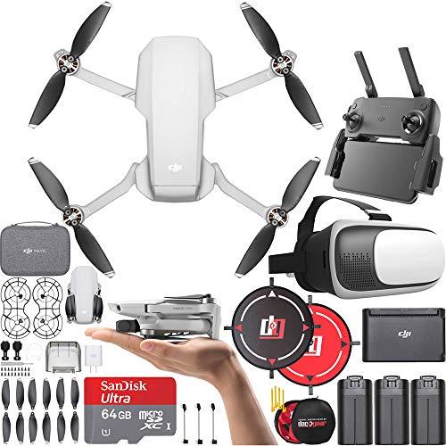DJI CP.MA.00000123.01 Mavic Mini Quadcopter Drone Fly More Combo (Renewed)...