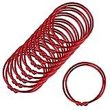 Zhichengbosi - Lot de12 ou 24 fils Bracelets rouges de kabbale  , red, m