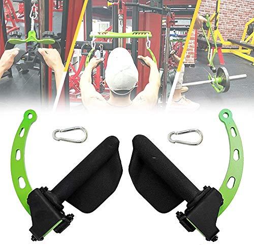 UKJRETU Kabelmaskin bartillbehör, justerbar LAT fitnessmaskin och lyftremskiva vikt maskinhandtagssystem, uppgraderad triceps biceps rygg axel lockträningstillbehör, 1 (storlek: 6)