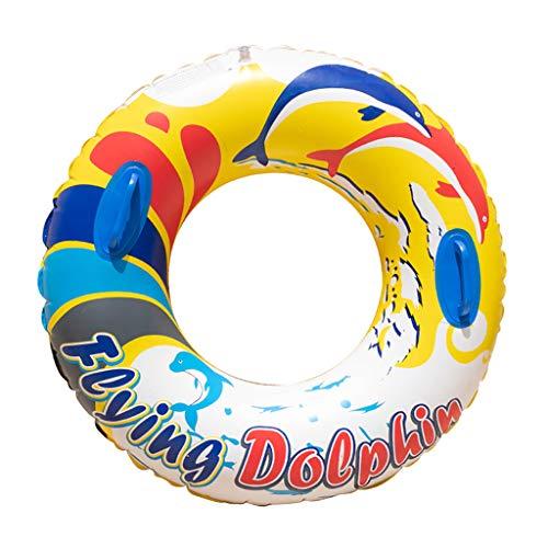 Yowablo Erwachsene verdickte Männer und Frauen Aufblasbare Achsel Schwimmring Schwimmausrüstung (90cm,C)