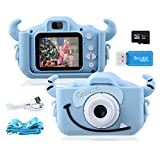 Kids Camera,1080P 20MP 2.0 Inches Screen Toddler Kids Digital Camera for Boys