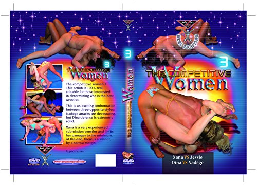 Topless wrestling - THE COMPETITIVE WOMEN 3 DVD (Competitive wrestling) Amazon's Prod