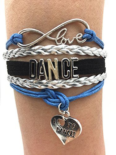 TimeLogo Dance Bracelet Girls Infin…