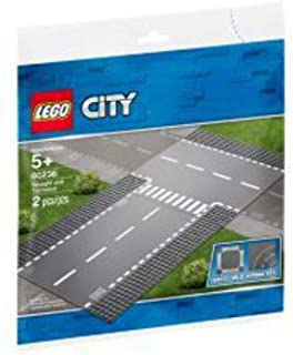 LEGO City Supplementary Straight and T-junction for age 5+ years old 60236