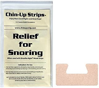 ChinUp Strips reduce loud snoring on the first night, encourage nasal breathing, and reduce dry mouth and throat. For men without a beard.