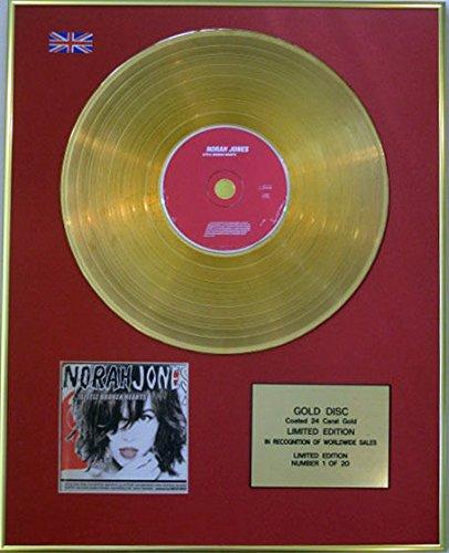 Century Music Awards Norah Jones CD 24 Karat Gold Beschichtete Scheibe – Little Broken Hearts