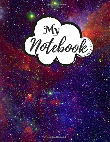 My Notebook: Password Book, Password Logbook and Internet Password Organizer, Alphabetical Password Book, Logbook To Protect Usernames - 120 Pages - ... inches) - Premium Space Galaxy Cover (Vol.04)