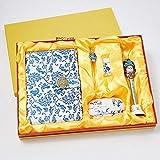 Artesanías chinas, festival de recuerdos para cuadernos, ir al extranjero, enviar amigos, maestros, plomo, regalo de cinco piezas