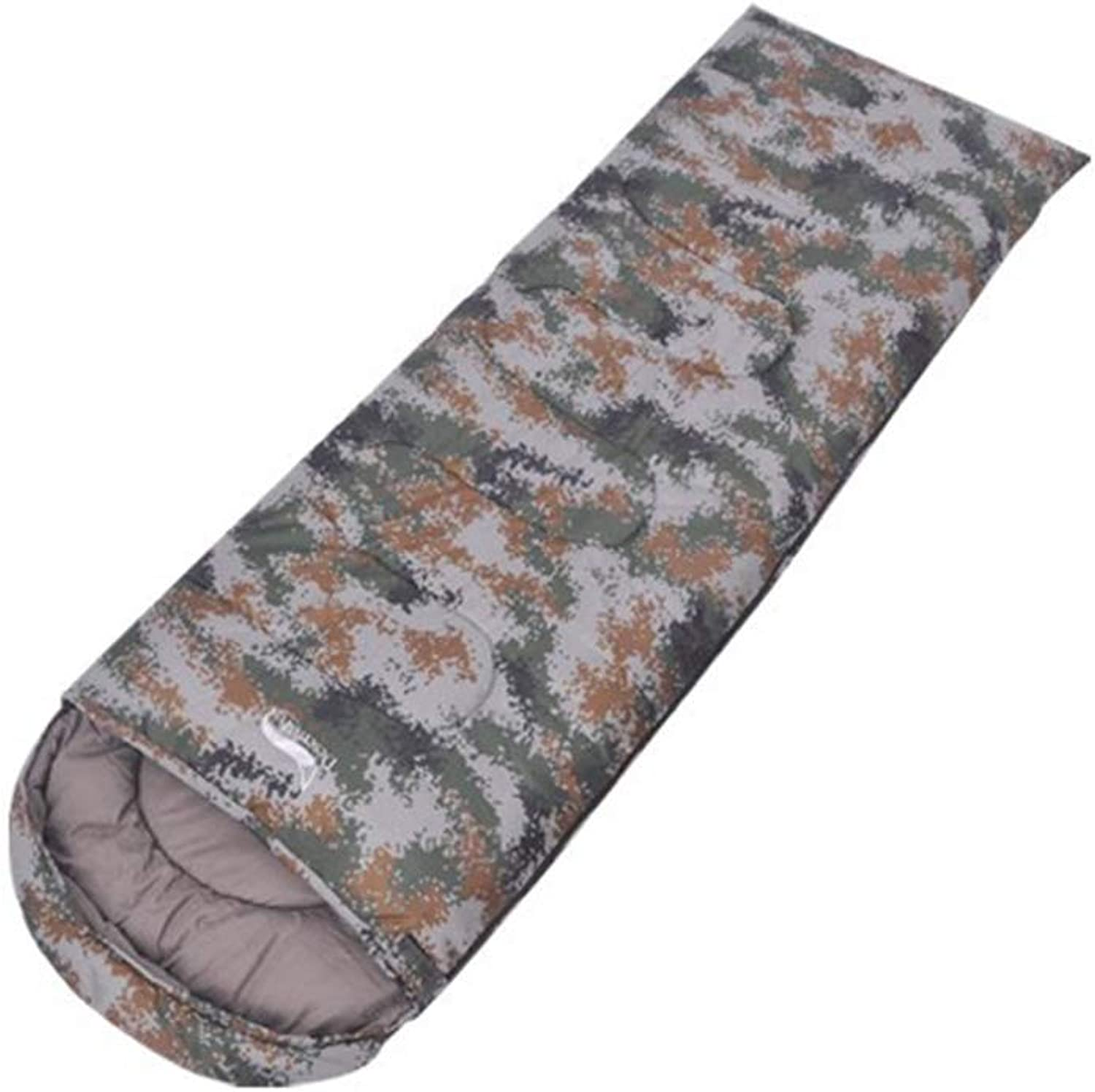 Backpacking Camping Sleeping Bag Waterproof for Adults Kids Lightweight with Compression Sack,Camouflage