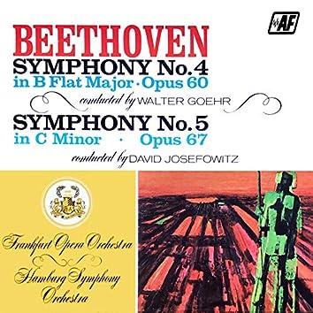 Symphony No. 4 In B Flat Major, Op. 60 / Symphony No. 5 In C Minor, Op. 67