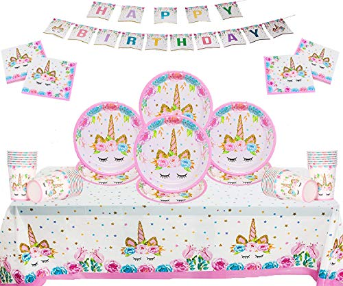 Einhorn Party Kinder Geburtstag Set