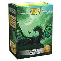 ドラゴンシールド マットアート エメラルド レイアルダ 標準サイズ 100枚 カードスリーブ 個別パック