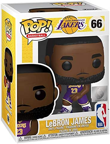 Funko POP! NBA: Lakers - Lebron James,3.75 inches