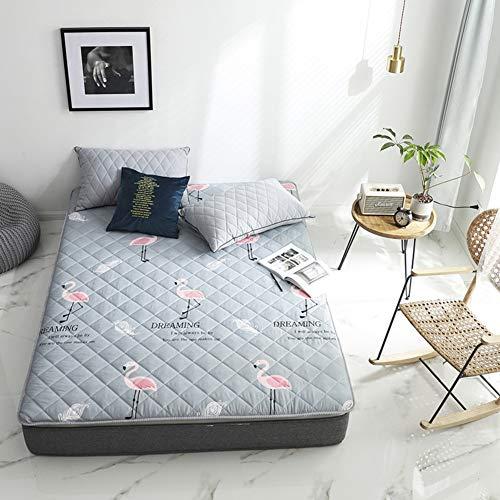 YUMUO Japanese Futon Mattress, Folding Sleeping Pad Comfort Portable Mattress Topper Single Double Tatami Floor Mat Dormitory Lazy Bed-a 150x200cm(59x79inch)