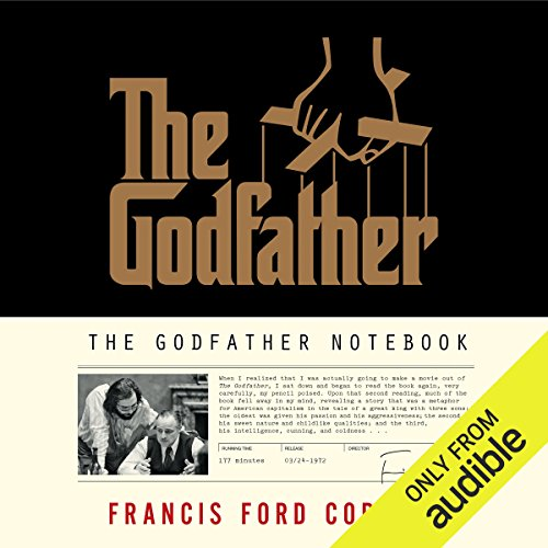 The Godfather Notebook audiobook cover art