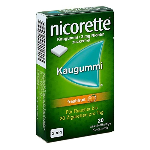 NICORETTE 2 mg freshfruit Kaugummi 30 St Kaugummi
