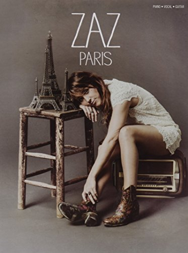 Zaz Paris Piano Vocal Guitar Book