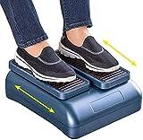 QDY -Circulación Máquina de Fisioterapia de Ejercicio pasivo de piernas para Personas Mayores Que Aumenta la Actividad de los pies y Las piernas y el Flujo sanguíneo Mientras está Sentado
