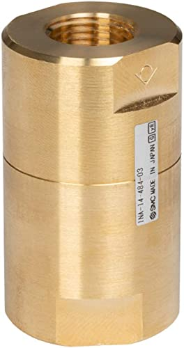 new arrival Cloudray OEM SMC High Pressure Check Valve INA-14-484-03 popular 28mm Thread discount 1.5Mpa Poof Pressure for Laser Cutting Machine outlet sale