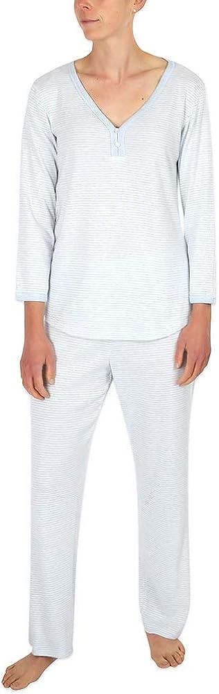 Miss 5% OFF Elaine Pajama's - Brushed Rib Knit Set Sleeves New Shipping Free Shipping Long Pajama