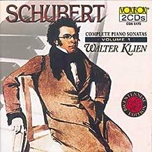 Schubert: Complete Piano Sonatas, Vol. 1