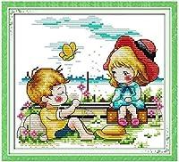 クロス ステッチ DIY 手作り刺繍キット 正確な図柄印刷クロスステッチ11CT 家庭刺繍装飾品 残り 40X50CM