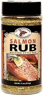 Hi Mountain Salmon Rub Blend 11 Ounce Jar