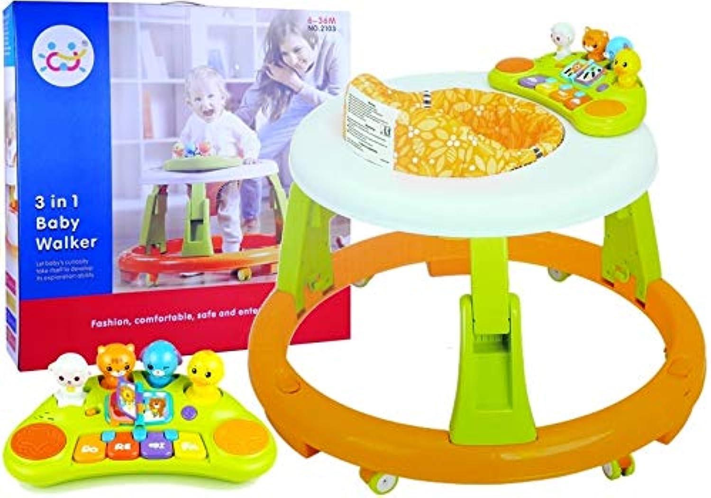 BSD 3 in 1 interaktives Walker-Spielzeug für Kinder