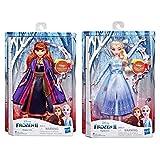 Frozen 2 17100-P - Juego de 2 muñecos Cantantes de Anna y Elsa