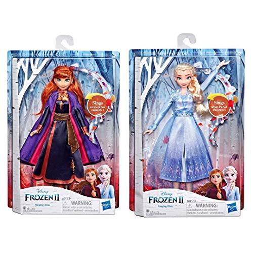 Frozen 2 17100-P Singende Puppen Set 2 Anna und ELSA