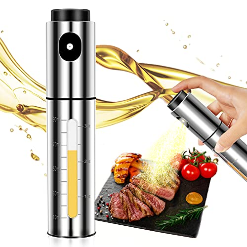 Oil Sprayer for Cooking,Stainless Steel Oil Dispenser for Air fryer