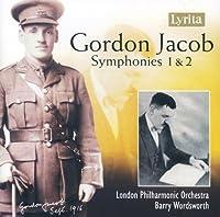 Symphonies 1 & 2 by JACOB GORDON (2007-08-07)
