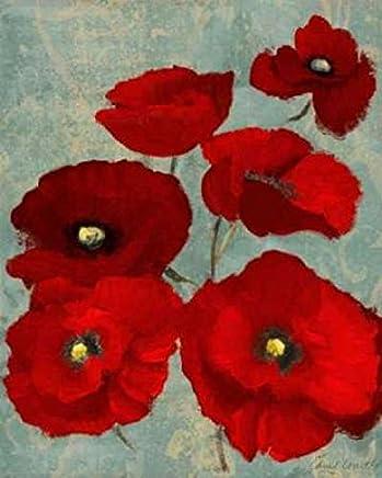 Kindles Poppies II Poster Print by Lanie Loreth (24 x 30)