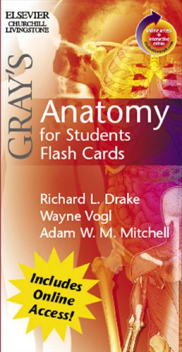 Gray's Anatomy for Students Flash Cards: With STUDENT CONSULT Online Accessの詳細を見る
