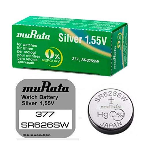 377 horloge batterij SR626SW Murata