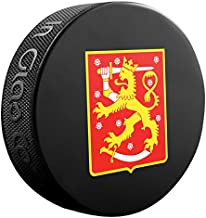 Finland Hockey Sher-Wood 2016 World Cup of Hockey Souvenir Puck