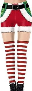 Charming House Womens 3D Printed Ugly Christmas Cosplay Leggings