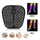 Ankep EMS Fußmassagegerät, Klappbare Fußmatte Einstellbar 6 Vibrationsmodi 10 Frequenz, Pad Füße Muskelstimulator Fußmassagematte Verbessern die Durchblutung, Schmerzlinderung - 5