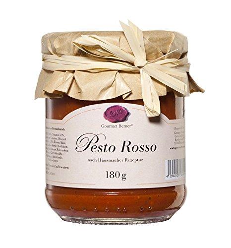 Gourmet Berner Pesto Rosso 180g Glas
